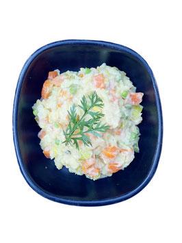 """""""Stoemp"""" met prei, wortel en tuinerwtjes"""