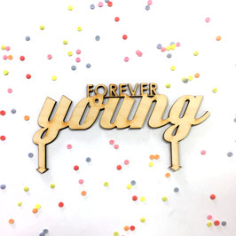 Cake-Topper ***FOREVER YOUNG***