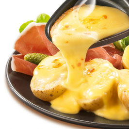 6. Raclette 4 fromages  et ses Accompagnements