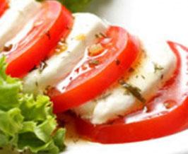 9. Tomate Mozzarella Di Buffala Di Campana