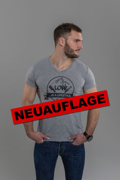 """LOW iS A LiFESTYLE Classic - Grau""  