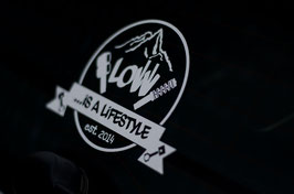 "Low is a Lifestyle Sticker ""Logo"""
