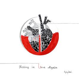 Fall in Love Again - Black Frame