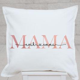 Mama-Kissen, individualisiert, mit Wunschnamen
