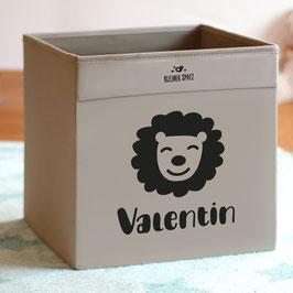 Löwen-Kiste, personalisiert mit Name