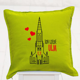 """Kissen """"Ich liebe Ulm"""""""