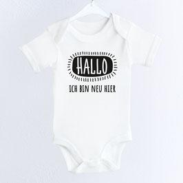 """Baby-Body """"Hallo – ich bin neu hier"""""""