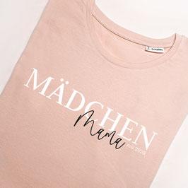"""T-Shirt """"Mächen-Mama"""" mit Wunsch-Jahreszahl"""