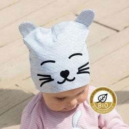 """Mütze """"Katze"""" mit """"Ohren"""""""