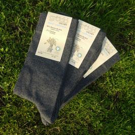 graue Socken Damen/Herren (3er Pack)