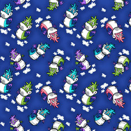 Patchworkstoff - STUDIOe - Drachen - Believe in Magic