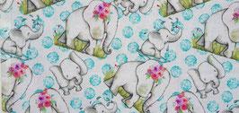 Cotton Craft Fabric - Elephant Fun - Patchworkstoff