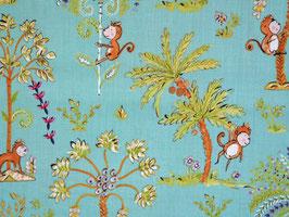 Dena Designs - Patchworkstoff Sundara Oasis - Lalika - Affen