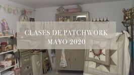 CLASES DE PATCHWORK MES DE MAYO