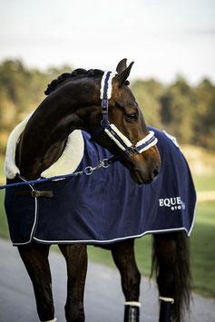 Equestrian Stockholm Abschwitzdecke Fleece Fauxfur, Fleecedecke, blau