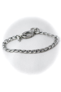 #II, Stainless Steel chain, Bracelet 8-9""