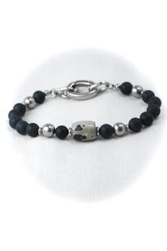 """#BB, Onyx & Jasper, Bracelet 9"""""""