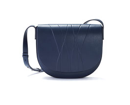 GEO SADDLE BAG blue