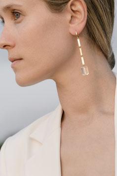 Lennse chain earrings