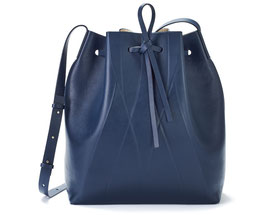 GEO BUCKET BAG blue