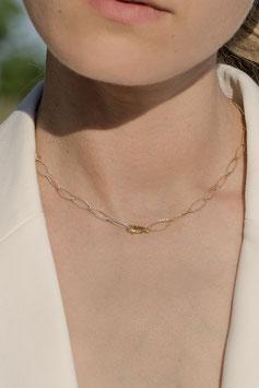 Bicolor fine necklace