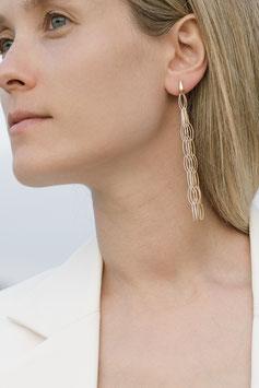 Bicolor ethereal earrings