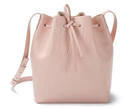 GEO BUCKET BAG nude