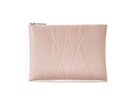 GEO CLUTCH nude - PRICE FOR SAMPLE  99,00 EUR - ENTER SALE CODE:  SAMPLE99