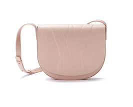 GEO SADDLE BAG nude