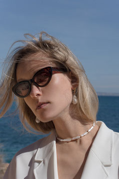 Stick pearl necklace -Son Caliu-