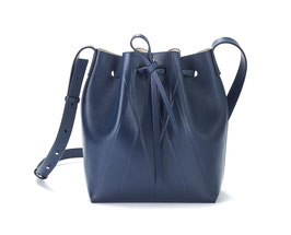 GEO BUCKET BAG MINI blue