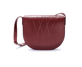 GEO SADDLE BAG bordeaux