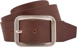 TOM TAILOR Herren Ledergürtel in 4 cm Breite   Made in Germany   100% Leder
