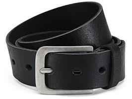 Herren Jeansgürtel 4cm Breite - Made in Germany -  100% Büffelleder - Individuell kürzbar (2 Jahre Garantie)