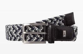 BRAX Herren Flechtgürtel in 3,5cm Breite | Mit hohem Tragekomfort | Besätze aus Echtleder