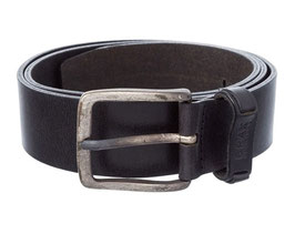BRAX Herren Gürtel mit markanter Schließe im Used Look - 3,8cm Breite