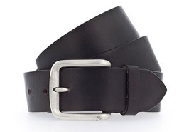 Mustang Belts Herren Jeansgürtel in 4cm Breite | Casual-Look | 100% Leder