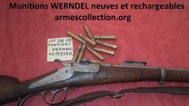 munition neuves et rechargeables werndel calibre 11mm (11x58R)