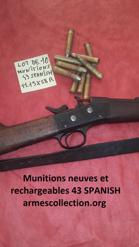 43 Spanish /11mm Spanish/ 11.15×58mmR Spanish Remington