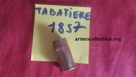 douille VIDES de fusil tabatière 17.8 x 35 Tabatiere