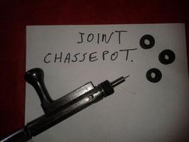 01 Joint pour culasse de fusil CHASSEPOT