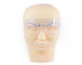 Augenbrauenlineal Kunststoff