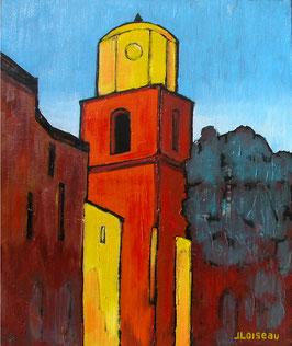 Le clocher de Saint-Tropez