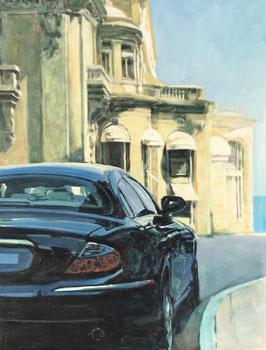 Monaco, terrasse avec vue sur la baie