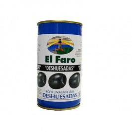 Aceitunas Negras Deshuesadas. Ca. 5 Liter.