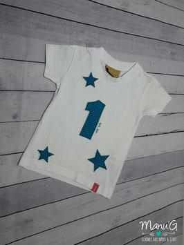 """Geburtstagsshirt """"ich bin 1"""""""