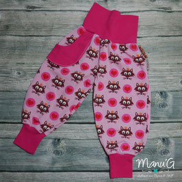 Pumphose Fuchs rosa/pink