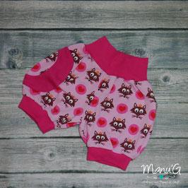 Pumphose kurz Füchse rosa/pink