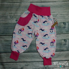 Pumphose Pinguine rosa/pink