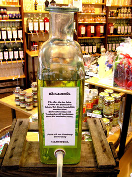 Bärlauch Traubenkernöl 1l=27,00€